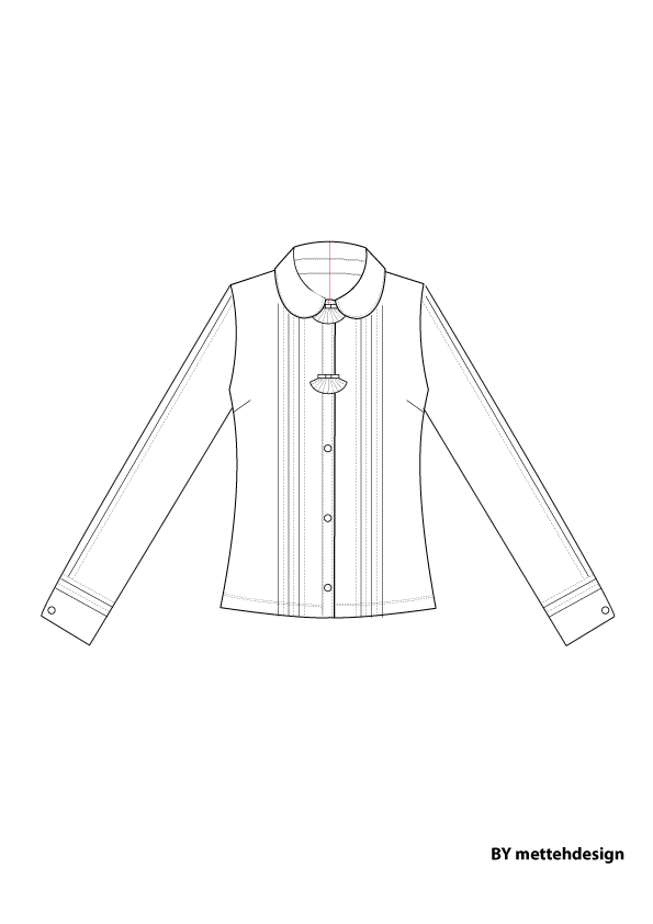 Silk Shirt by mettehdesign